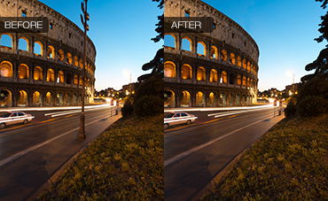 Removing Complex Objects from Photos in Photoshop
