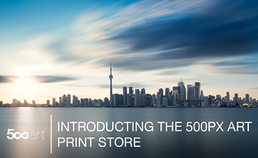 Introducing the 500px Art Print Store